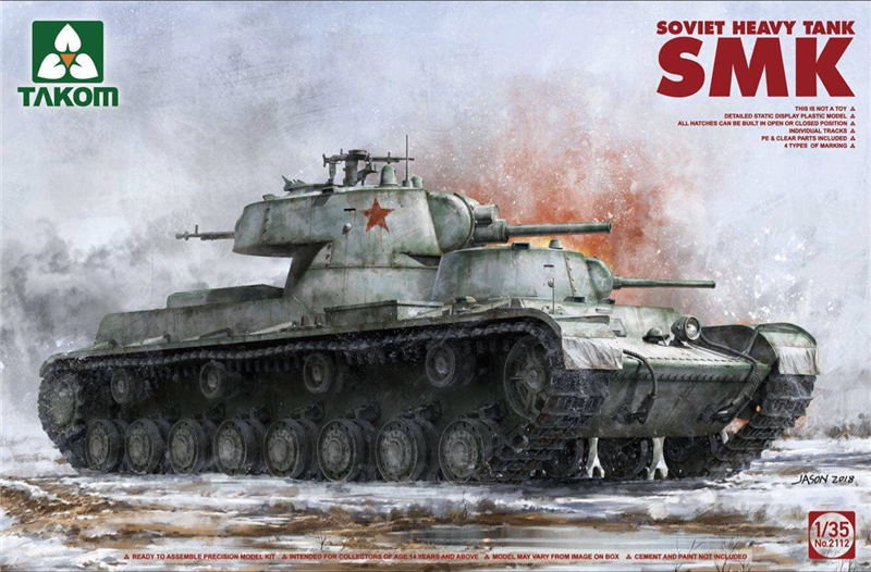 TAKOM - Soviet Heavy Tank SMK - First Look